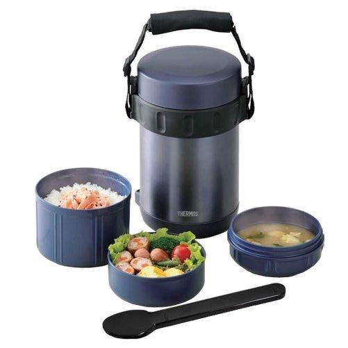 Термос для еды с контейнерами JBA-2001 в подарочной упаковке - термосы Thermos.
